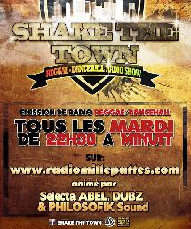 Emission de radio: Shake The Town