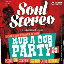Rub A Dub Party #20 ce vendredi
