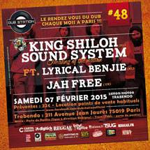 Paris Dub Station #48 avec King Shiloh