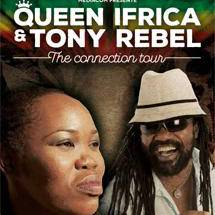 Queen Ifrica & Tony Rebel à Paris
