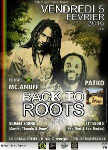 Back To Roots le 5 f�vrier � Marseille