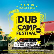 Dub Camp : line-up jour par jour