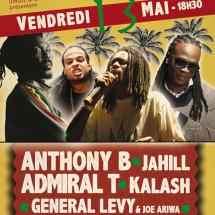 Anthony B, Kalash, Admiral T & more à Melun