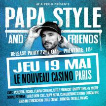 Papa Style & Friends à Paris le 19 mai