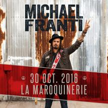 Michael Franti à Paris le 30 octobre