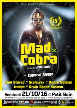 Mad Cobra à Paris pour les 15 ans de Drum Sound