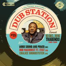 Paris Dub Station #55 avec Word Sound & Power