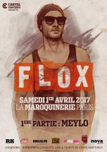 Flox à Paris le 1er avril