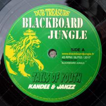 Blackboard Jungle : nouveau 45T ft. Kandee & Jahzz
