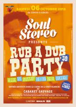 Rub A Dub Party gratuite demain au Cabaret Sauvage