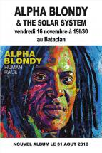 Alpha Blondy au Bataclan vendredi