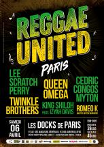 Soirée Reggae United Paris avec Lee Perry, Twinkle Brothers & more