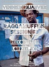 Raggamuffin Session vendredi 3 janvier à Paris