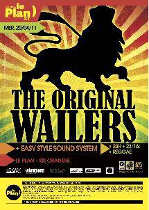 The Original Wailers au Plan le 20 avril