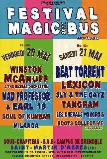 Festival Magic bus à Grenoble!