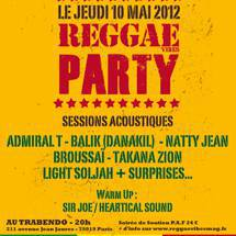 Reggae Vibes Party J- 10!!!