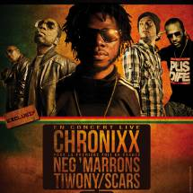Chronixx en France le 6 avril prochain