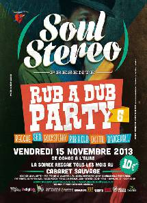 Rub A Dub Party # 6 le 15 novembre