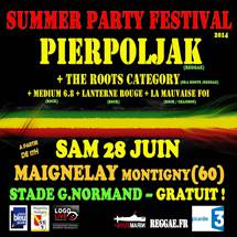 Summer Party Fest avec Pierpoljak
