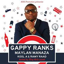 Gappy Ranks à Bordeaux le 22 mai