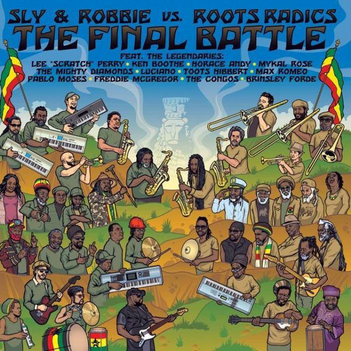 Reggae fr :: Un album avec les Roots Radics et Sly & Robbie